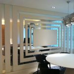 Wonderful Mirrored Walls In Living Rooms Of Wall Mirror Design For Room Emiliesbeauty
