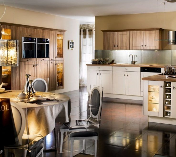 Adorable Art Deco Kitchens Of Classic Kitchen