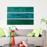 Adorable Modern Wall Painting Of Wood Sculpture Large Abstract Multi