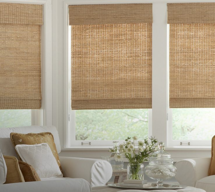 Adorable Roman Shades For Bedroom Of Horizons Natural Woven Classic