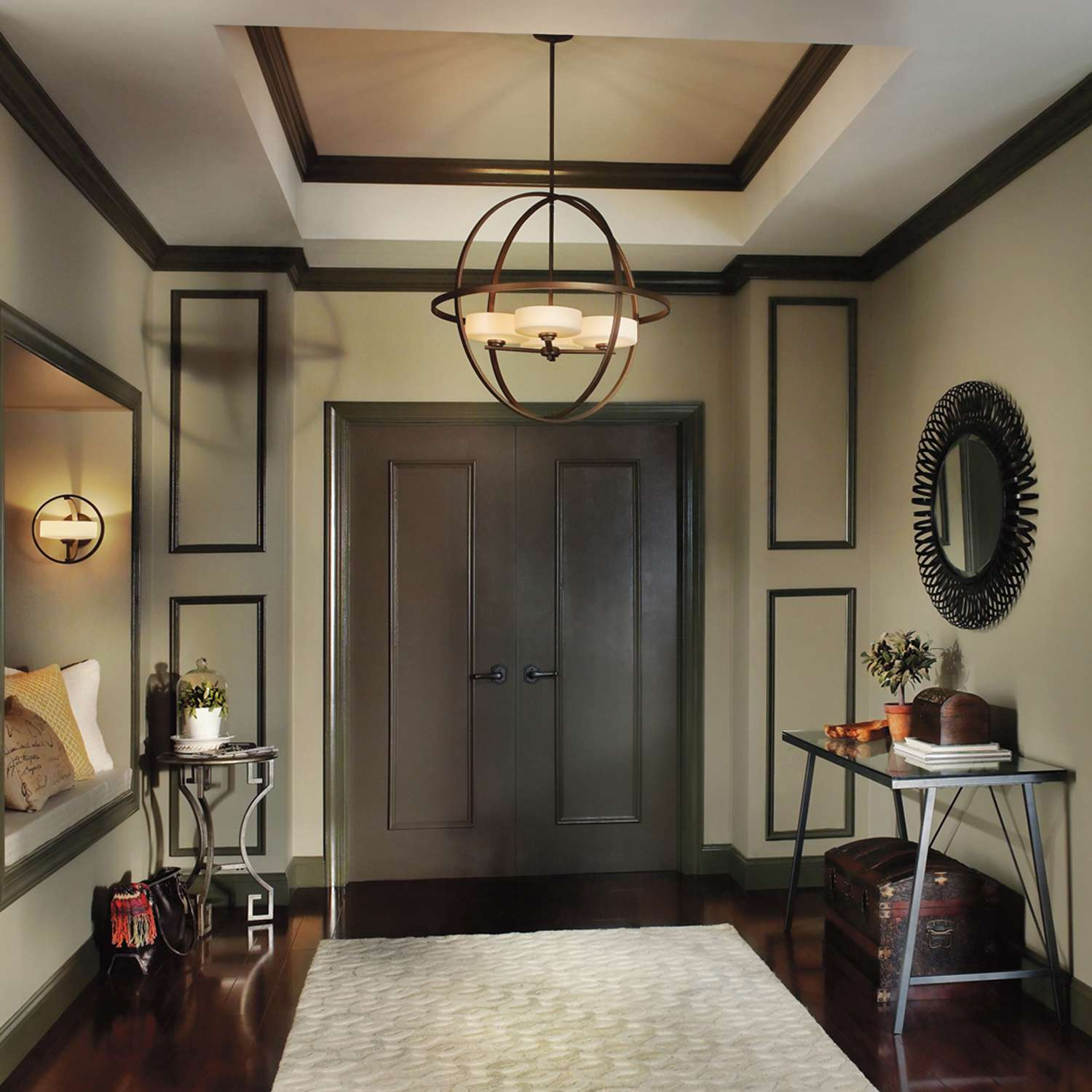 Decor Tray Ceilings And Foyer