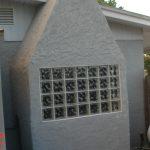 Alluring Glass Block Fireplace