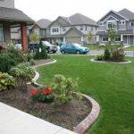 Alluring Home Front Decor Ideas Of Best Yard Landscape Design