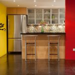 Alluring Kitchens Painted Orange Of Painting Kitchen Walls