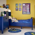 Alluring Painting Kids Furniture Ideas Of Fascinating Blue And Yellow Bedroom