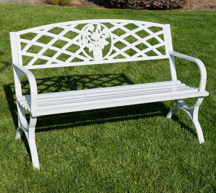 Alluring Rustic Wooden Garden Bench Of Belleze Inch Outdoor Park Backyard Furniture