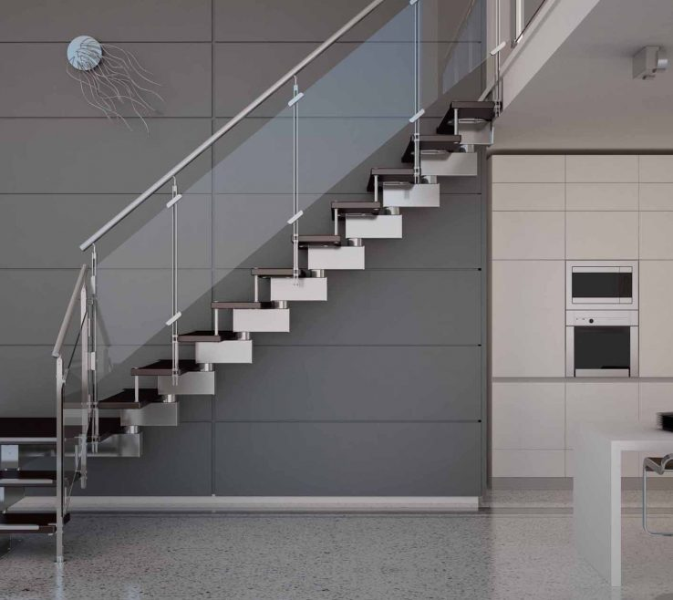Amazing Glass And Steel Staircase Railing Of Staircases Unique Photography Metal Stair Dubai