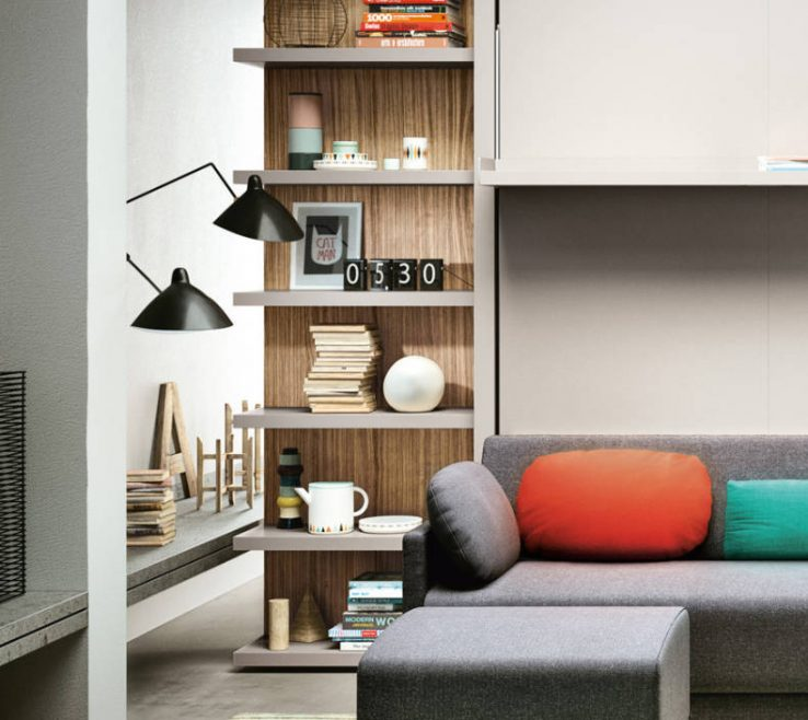 Amazing Space Saving Shelves Of Shelving