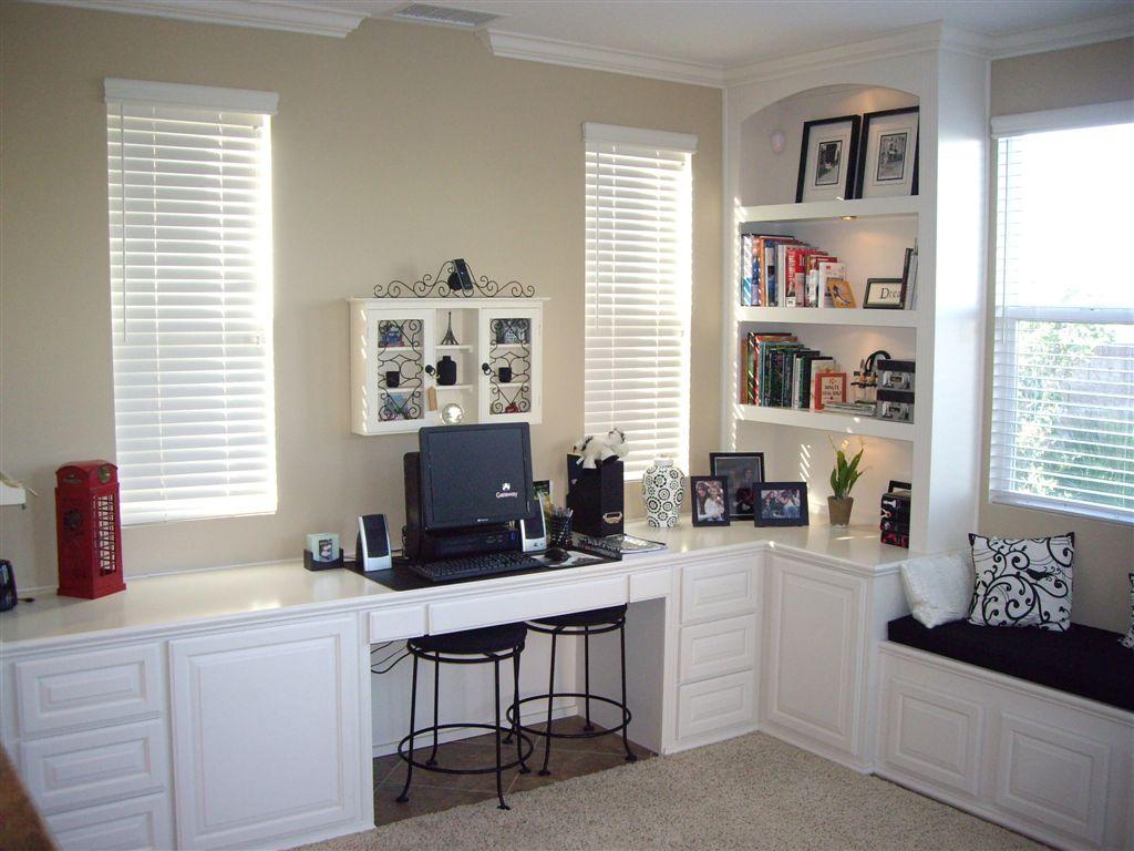 Home Office Designs Of Custom Desks