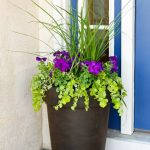 Artistic Flower Arrangements For Front Door Of In Pots Do