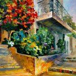 Artistic Painted Garden Stones Of Alem