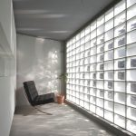 Artistic Wall Glass Design Interior Of Block Art Gallery By Jam