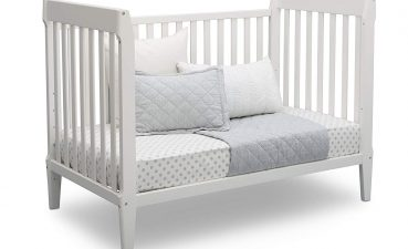 Astounding Mid Century Modern Baby Crib Of Serta Classic In Convertible Crib Grey