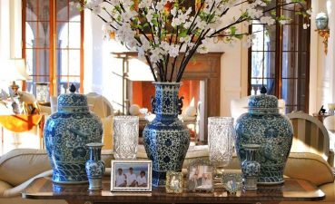 Attractive China Living Room Furniture Of Chinese Vases And Decorations With White