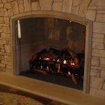 Attractive Glass Block Fireplace Of Utah Custom Fireplaces Home Utah Custom