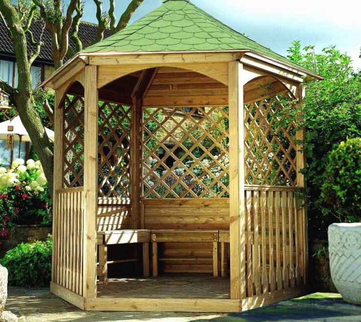 Attractive Ideas For Gazebos Of With Sides Modern Natural Wooden Gazebo