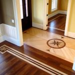Attractive Inlay Flooring Designs Of Hardwood Floor Ideas