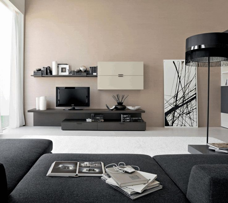 Attractive Tv Set Interior Design Of Living Room For Ideas Sectional Sofa
