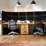 Attractive Two Person Work Desk Of Double Home Office Home Design