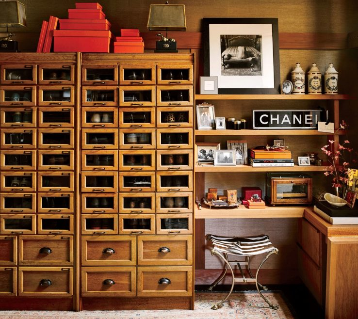 Awesome Dressing Room Storage Ideas