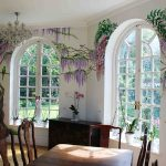 Awesome Mural Interior Design Of Wisteria Mural Kitchen