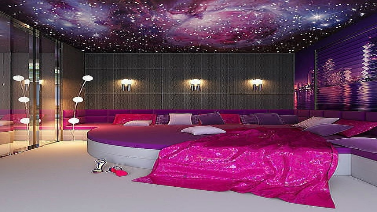Awesome Pink And Purple Paint Ideas Of Bedroom Colors For Two Colour Acnn Decor