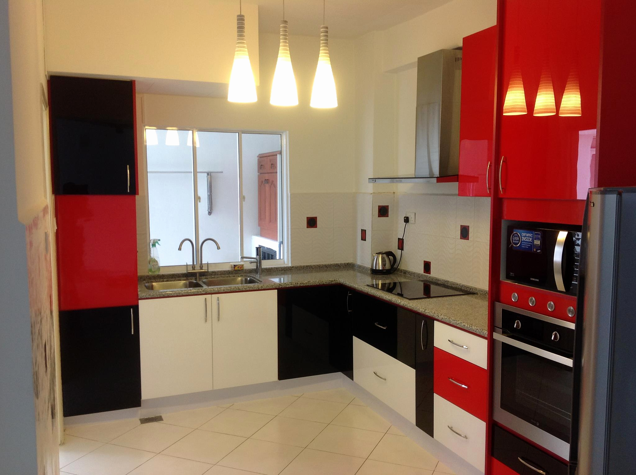 Awesome Red And White Kitchen S Of Wall Ideas In Black Acnn Decor