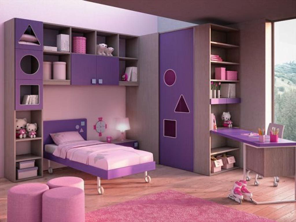 Beautiful Pink And Purple Paint Ideas Of Sensational Choose Bedroom Colors In Girl Room Acnn Decor