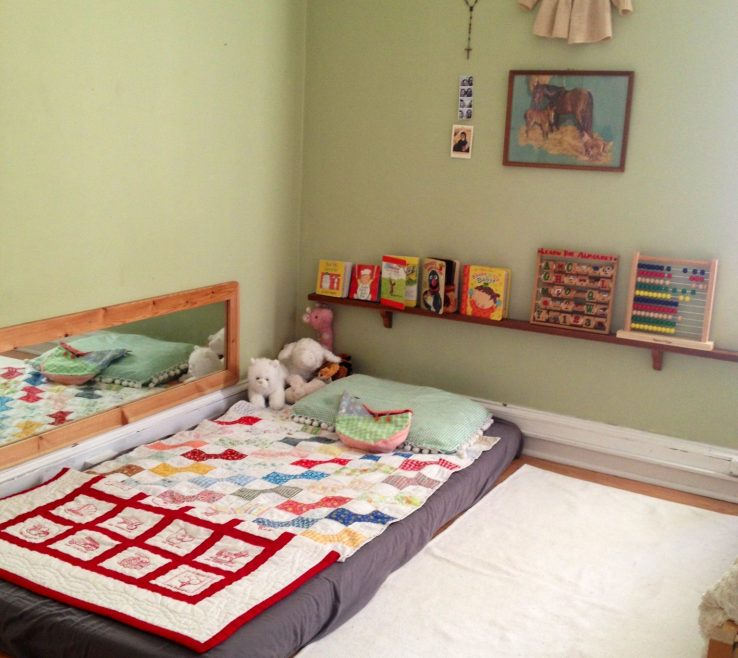 Bedroom Mattress On Floor Of Montessori Bed I Think I Will Do