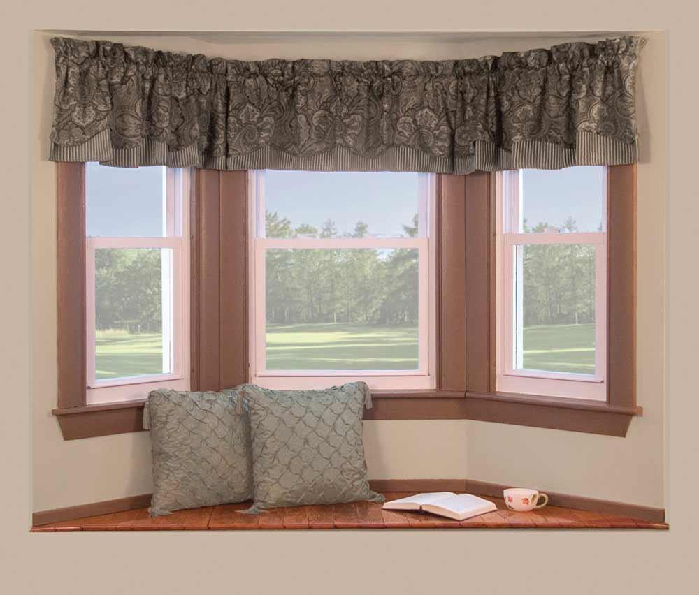 Simple Windows Decor With Small Curtain