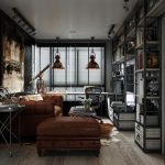 Brilliant Masculine Interior Decorating Of Dark And Elegant Trial designblinds Trial Space