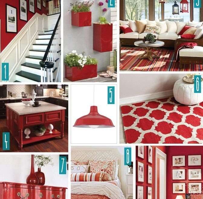 Captivating Fun Kitchen Decorating Themes Home Of Color Series With Red Red White
