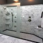 Captivating Modern Bathroom Showers Of Awesome Ideas Design Ideas With Walk