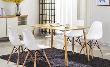 Captivating Modern Style Dining Chairs Of Costway Set Of Mid Century Dsw