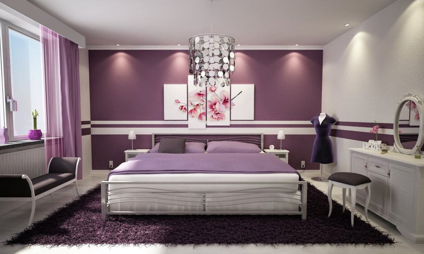 Romantic Bedroom Colors - ACNN DECOR