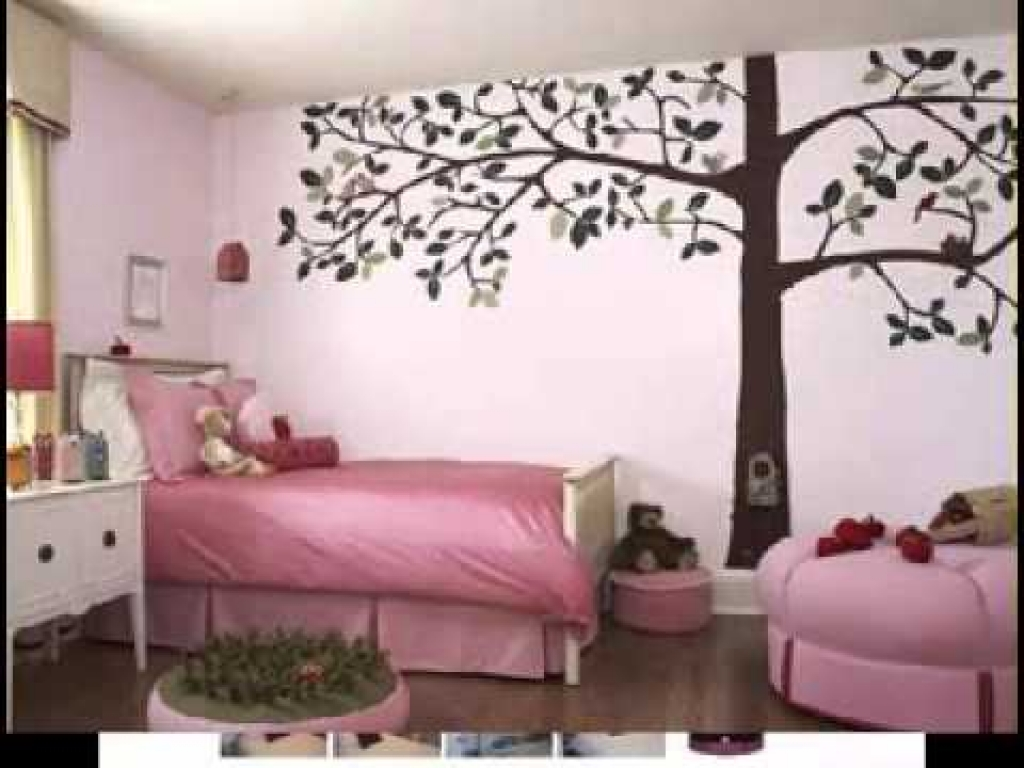 Charming Creative Bedroom Paint Ideas Of Wall Painting Designs For Design Youtube Acnn Decor