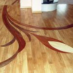 Charming Inlay Flooring Designs Of Project Flower