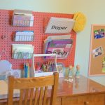 Charming Kids Desk Area Of Kids Desk Writing Center And Bulletin Board