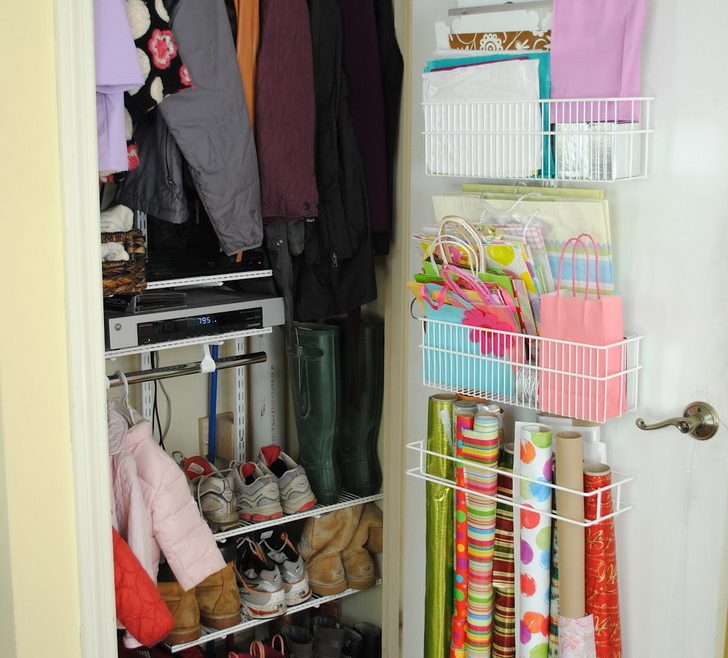 Charming Small Closet Design Ideas Of Simple Organization