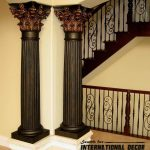 Column Designs For Interior Of Decorative Columns Stylish Element In Modern