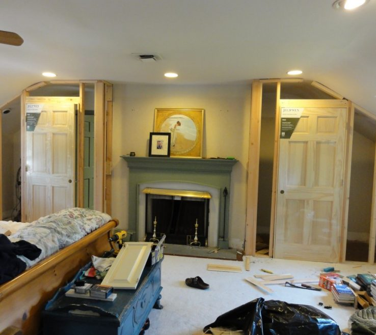 Cool Master Bedroom Closets Of Before Building