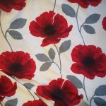 Curtains With Matching Roman Blinds Of Next Poppy Eyelet And Blind