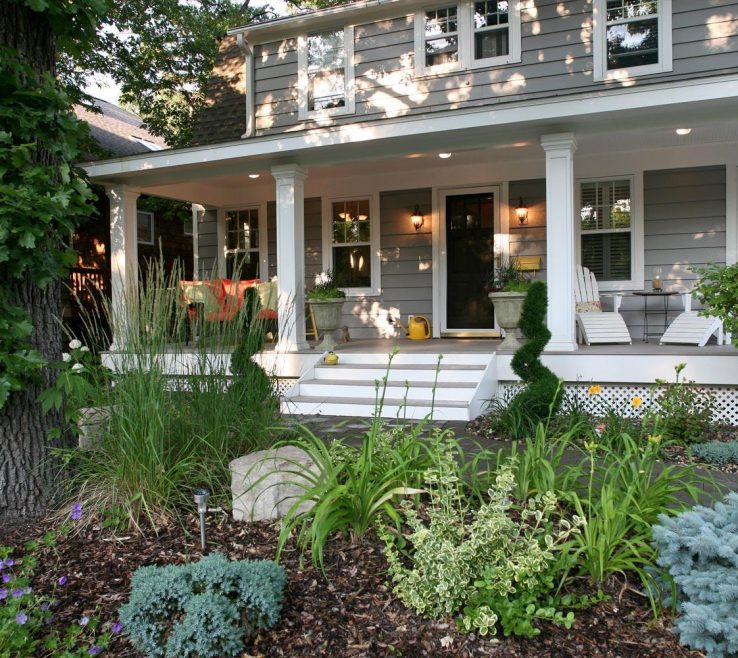 Design Front Yard Of Garden And Landscaping In Minneapolis Mn