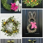 Elegant Flower Arrangements For Front Door Of Spring Wreath Ideas Your Door