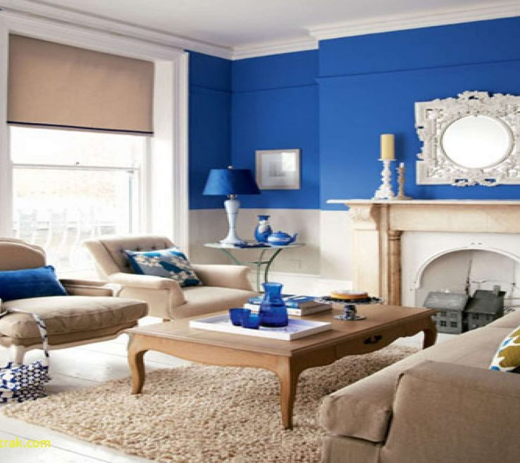 Elegant Light Blue Living Room Ideas Of Bohedesign Lovely Wall Paint With Brown