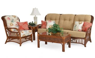 Elegant Living Room Wicker Furniture Of Biscayne Collection From Watermark