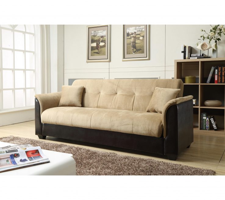 Elegant Melanie Furniture Of Shop Nathanial Home Champion Storage Futon Sofa