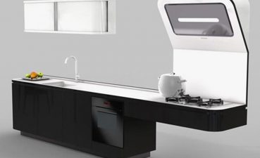 Elegant Space Saver Kitchen Design Of Saving