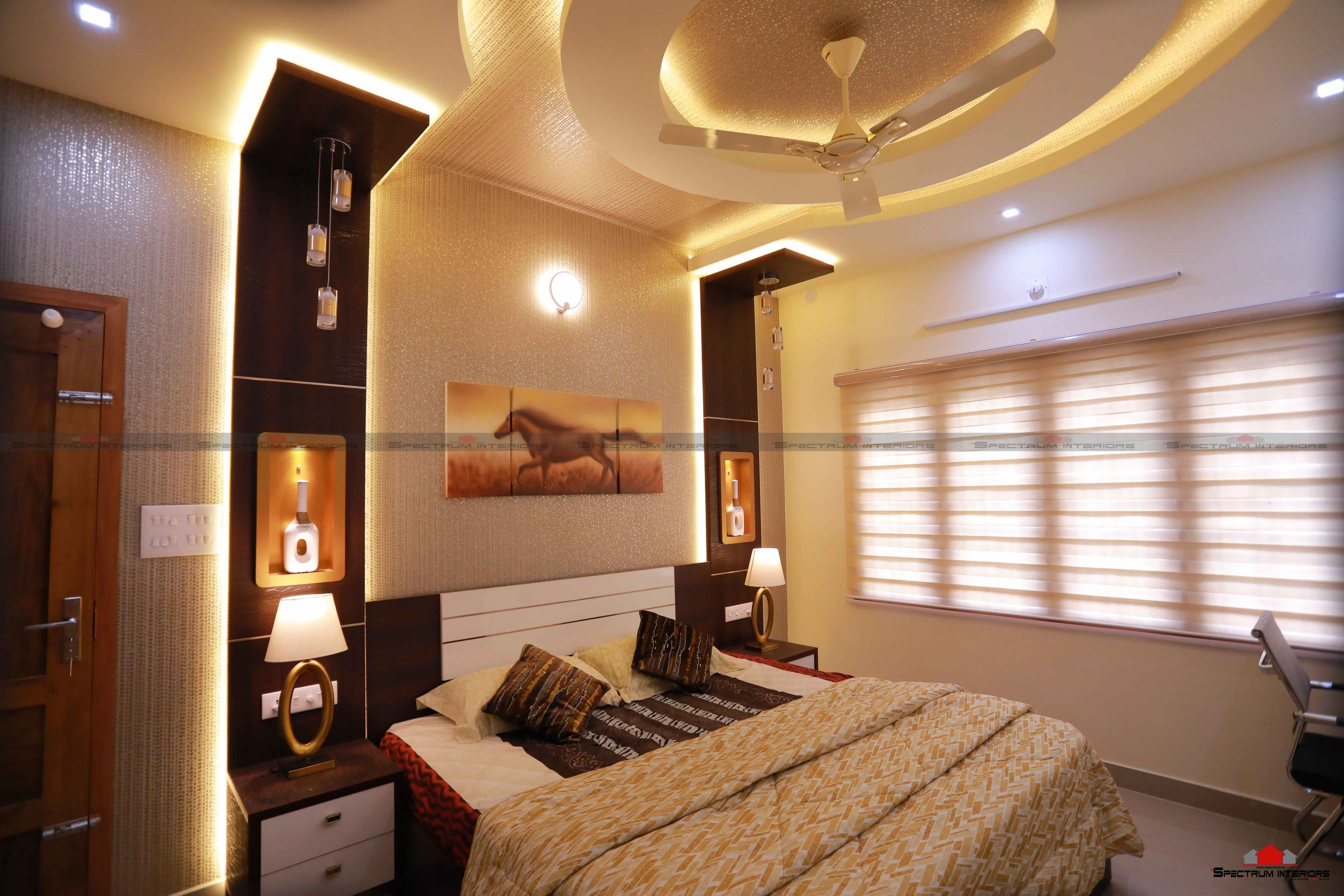 Enchanting Interior Design Walls And Ceiling Of In Kerala Acnn Decor