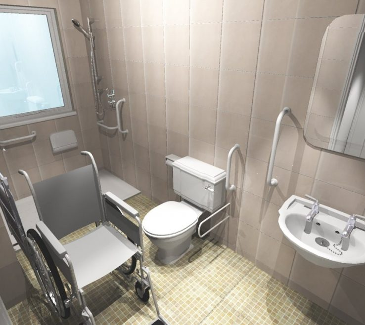 Endearing Bathroom Design For Disabled Of Decor Ideas On A Budget